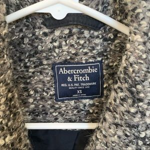 Abercrombie & Fitch Jackets & Coats - Abercrombie & Fitch wool blend coat